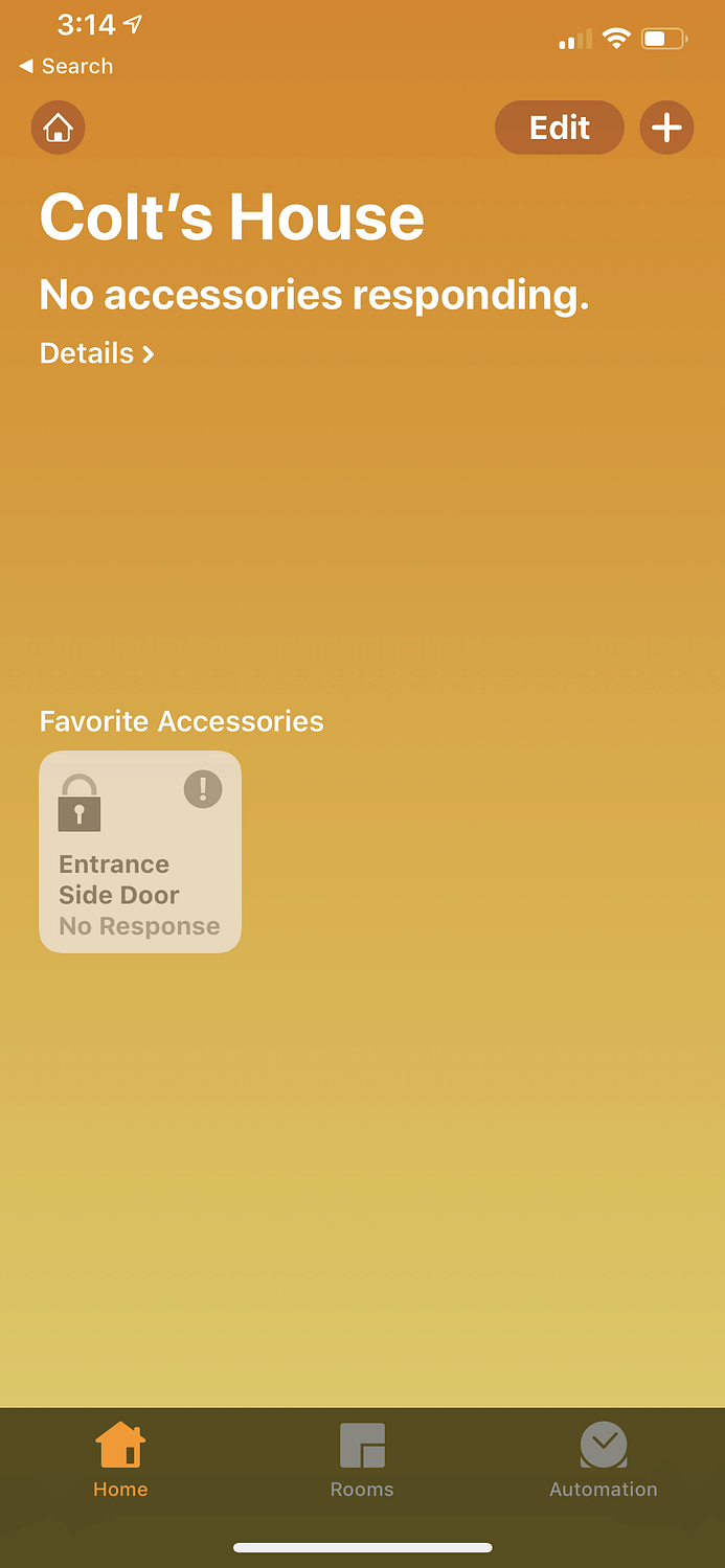 Apple Homekit August Lock Not Working