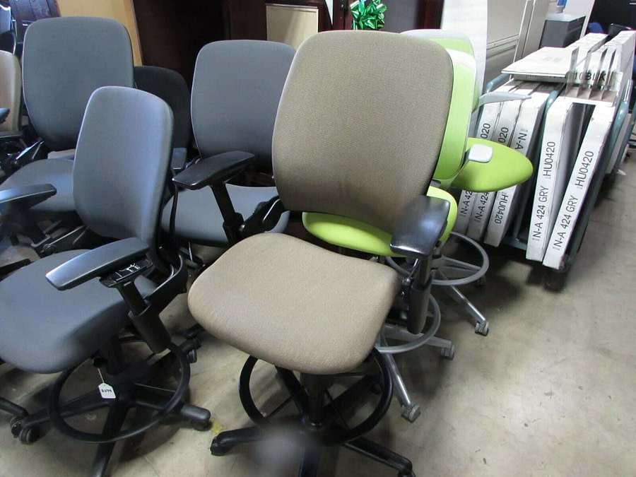 steelcase leap v2 used 1