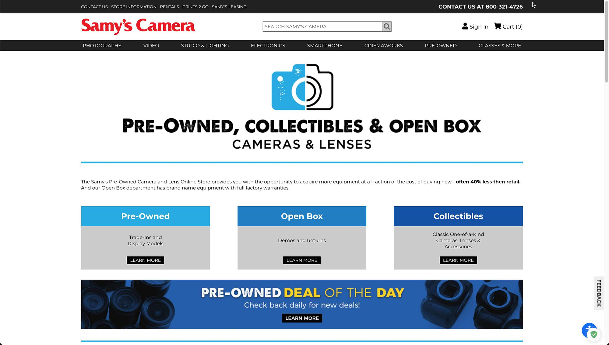 Samys Camera Preowned Store scaled