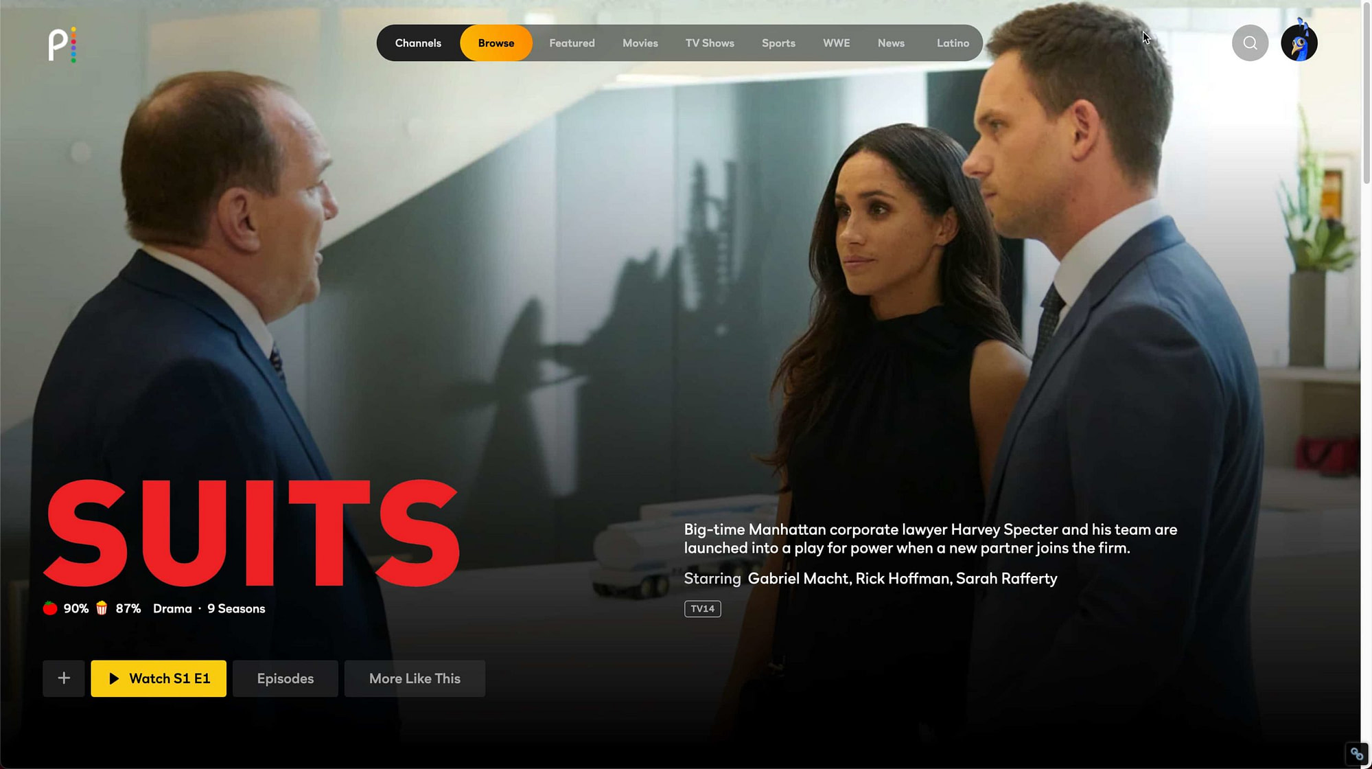Suits Peacock TV scaled