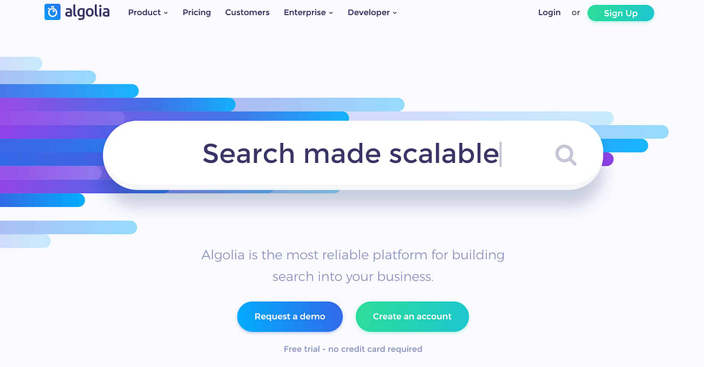 Algolia - Best WordPress Search Plugin