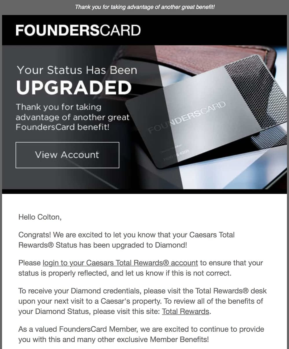 Founders Card Review