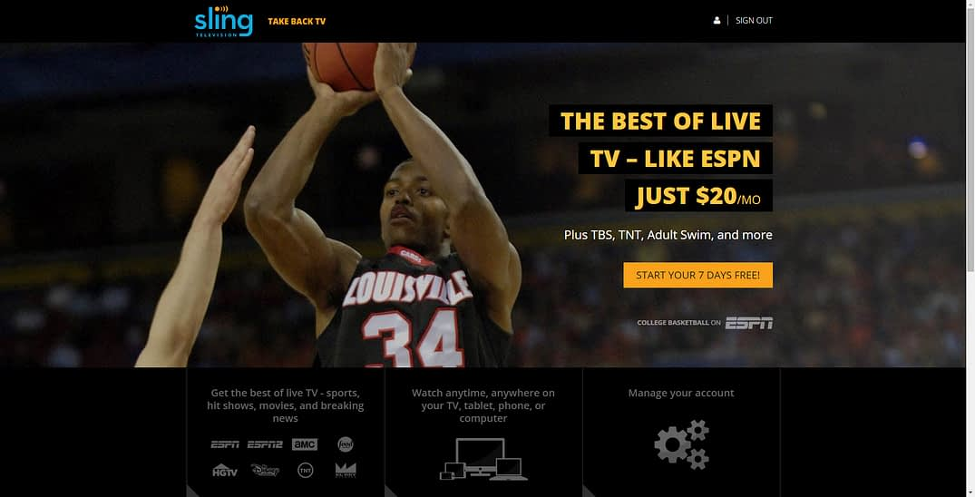 Sling TV Review - Affordable, No-Contract Live TV Streaming