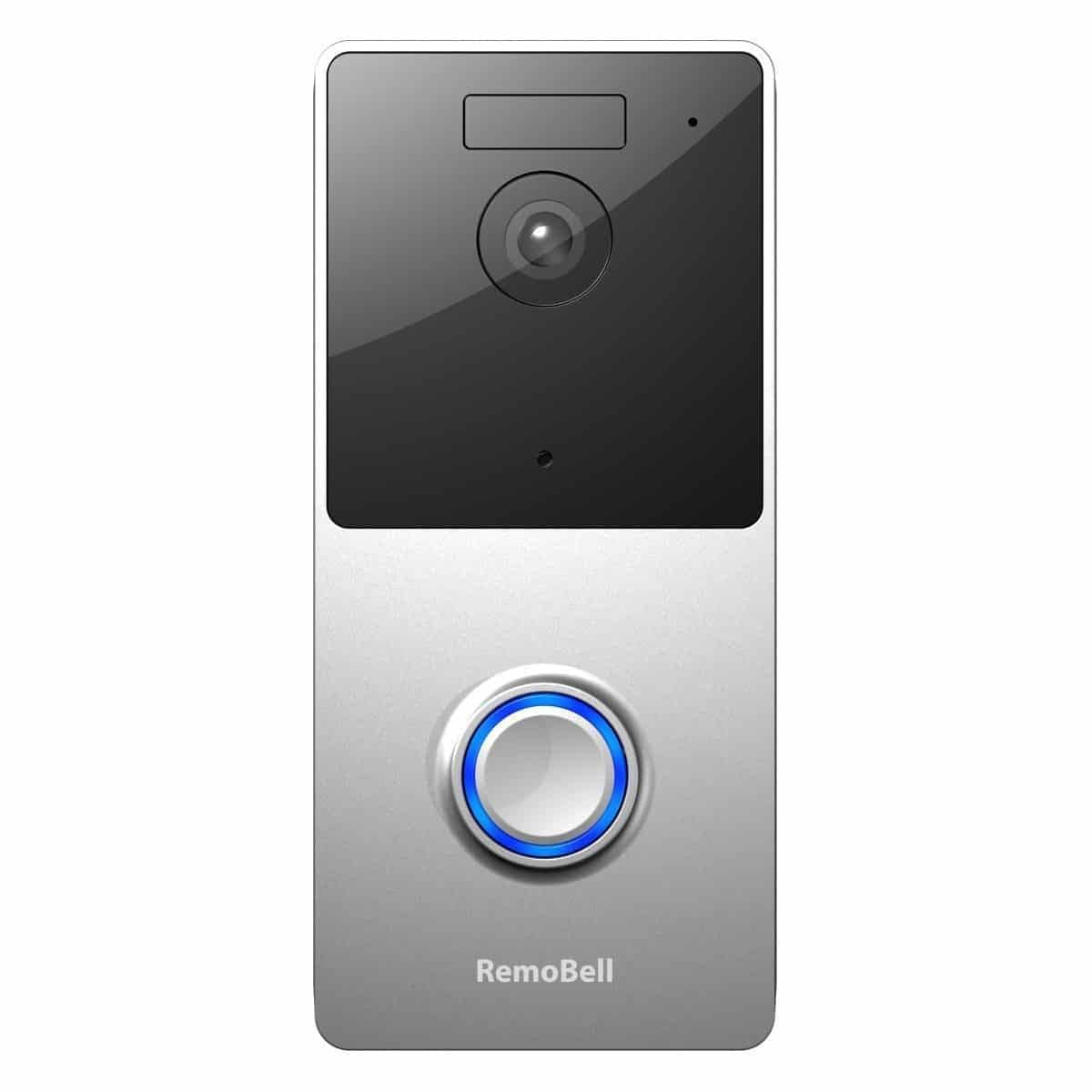 A forward view of the Remobell Video Doorbell.