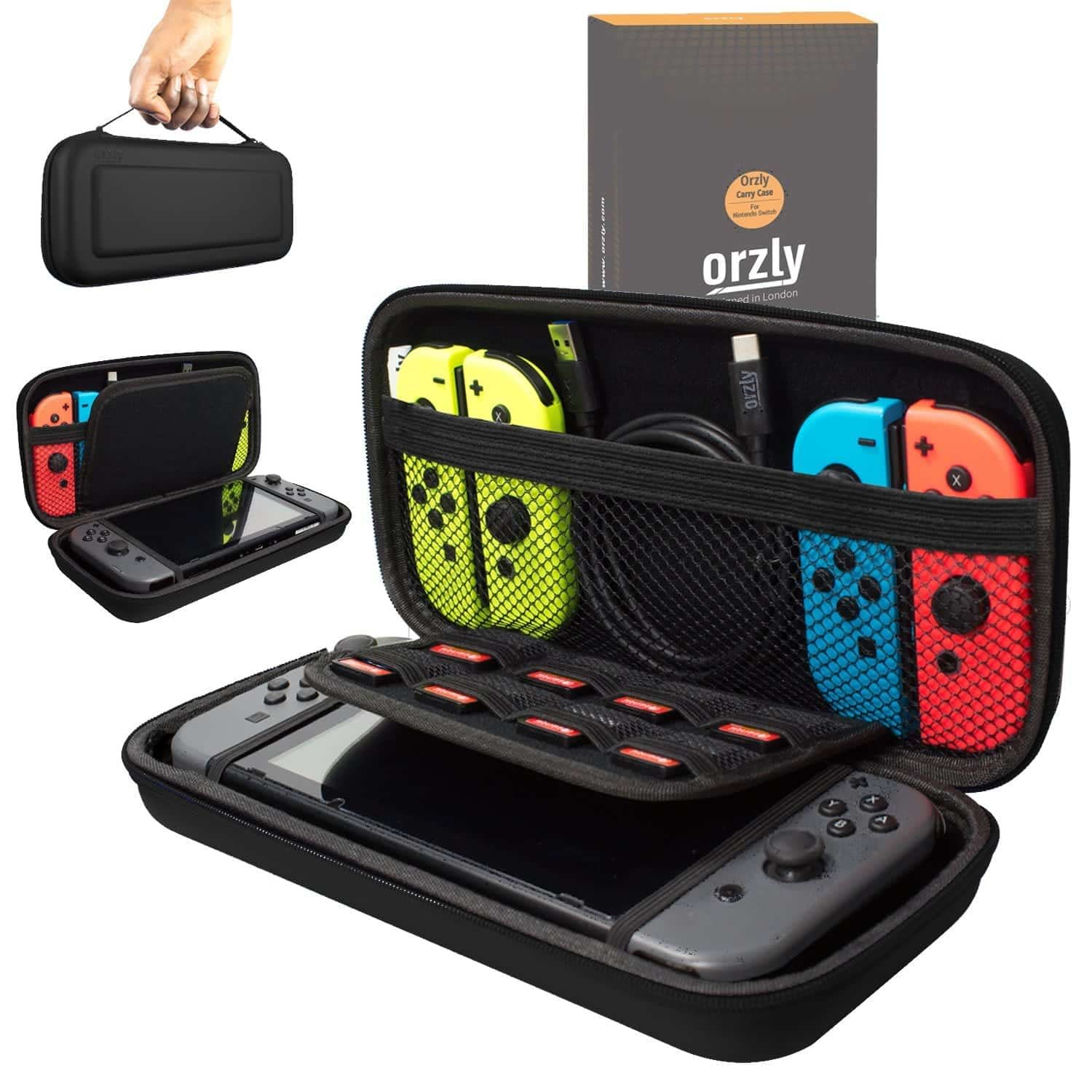 Orzly - best switch carrying case