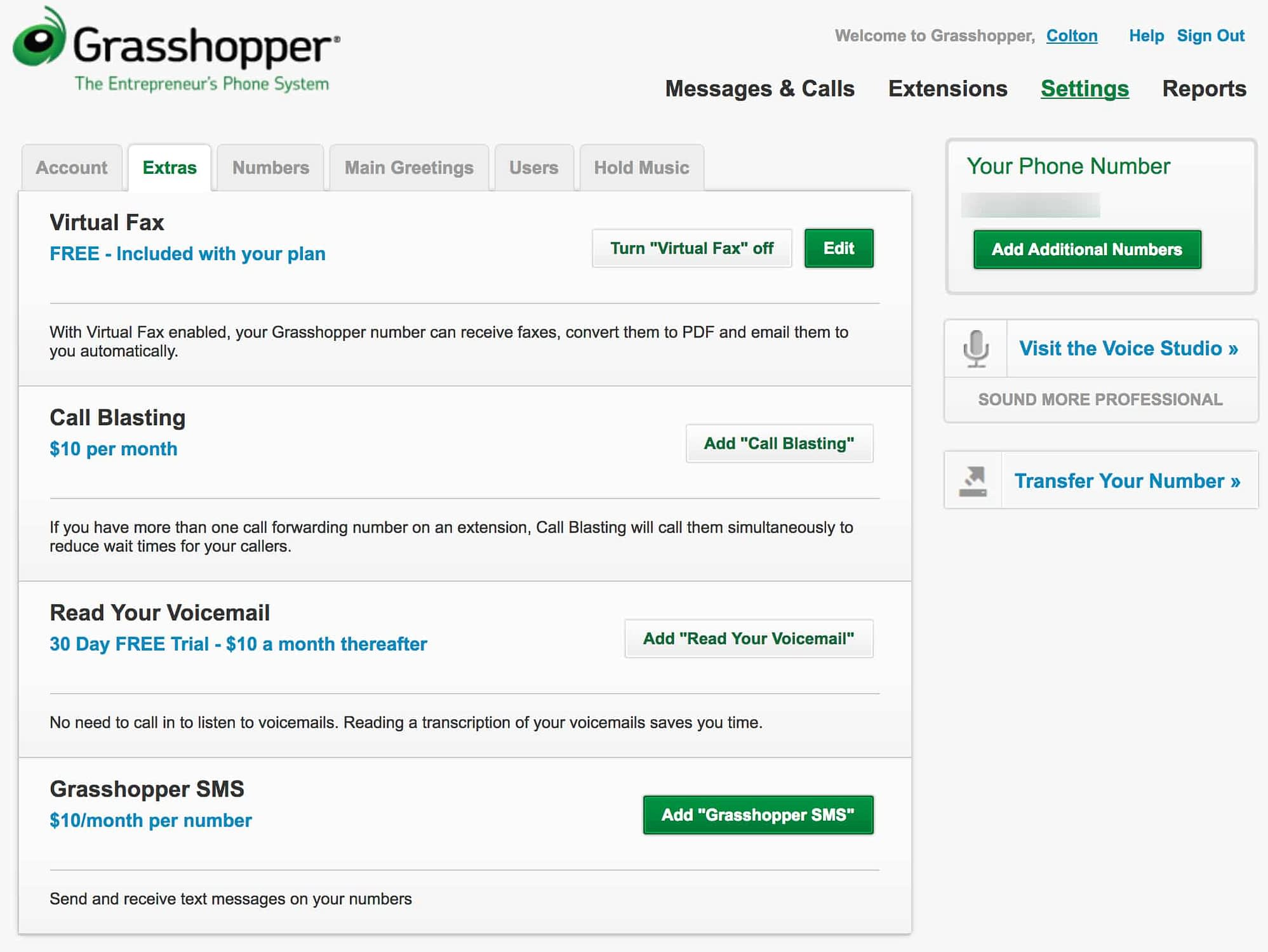 Grasshopper Extra Features Panel