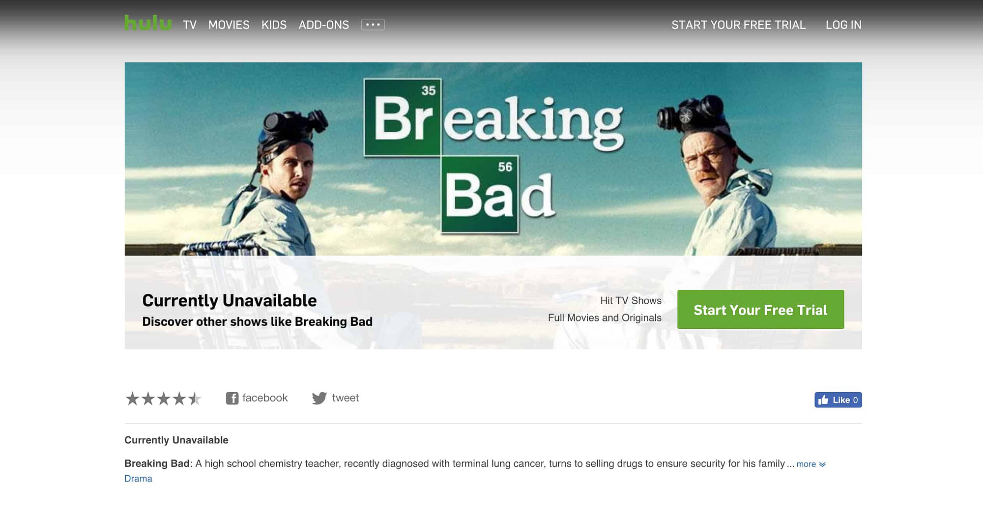 Watch Breaking Bad Online? 4 Free & Paid Streaming Options