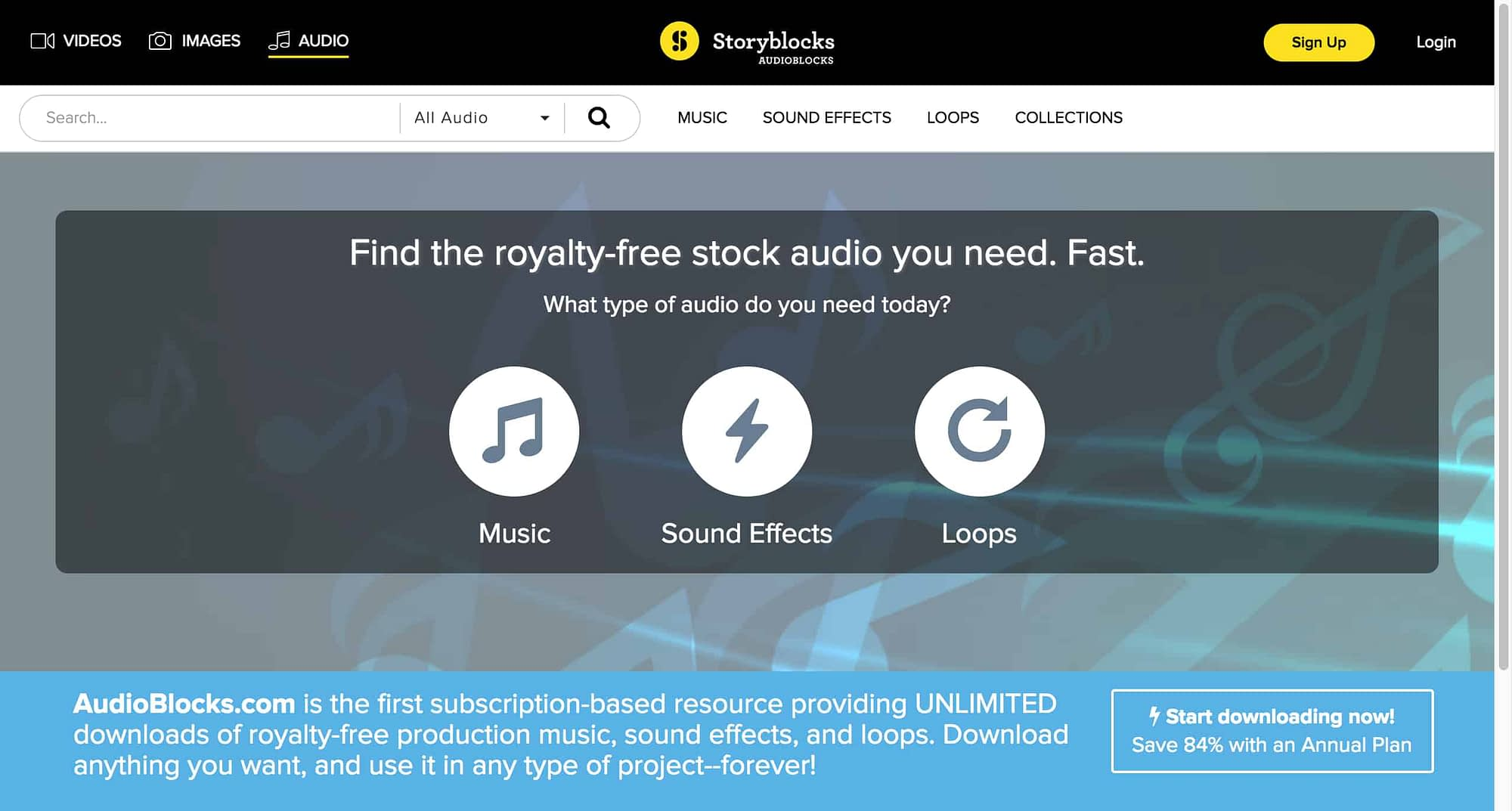 AudioBlocks Review Royalty Free Music