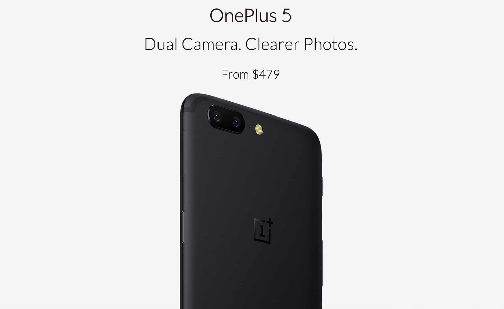 OnePlus 5 Features