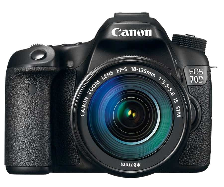Canon 70 Body Front